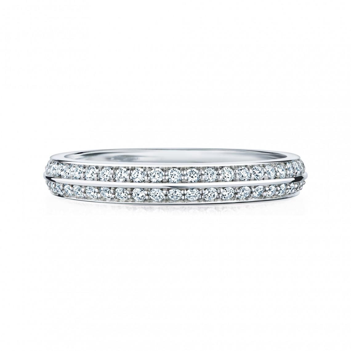 """Birks Amorique® """"Eternity"""" Diamond Wedding Band Image"""
