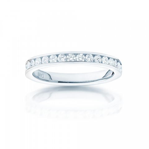Birks Platinum Wedding Band Image