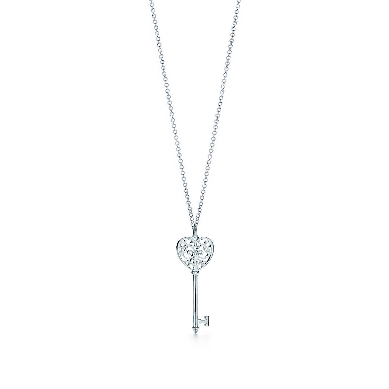 TIFFANY ENCHANT® Heart Key Pendant Image