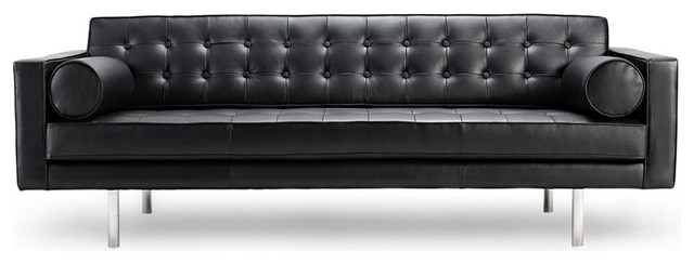 Leather couch Image