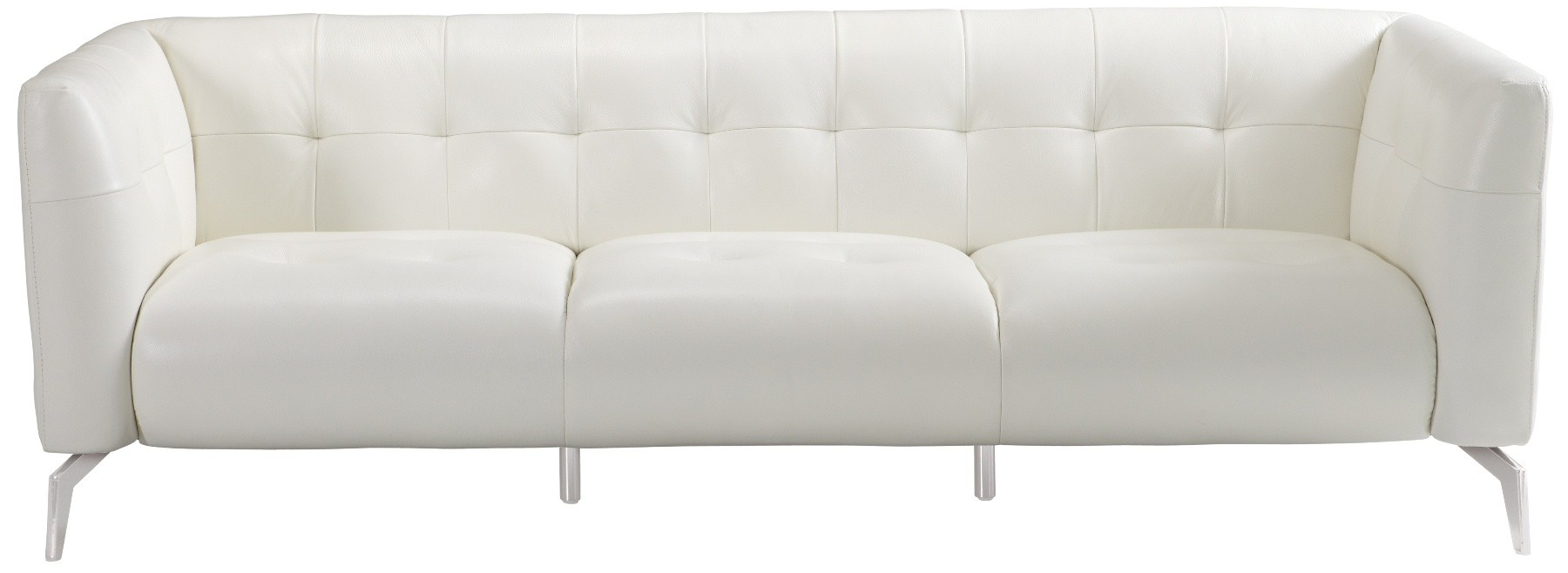 Attractive White Couch