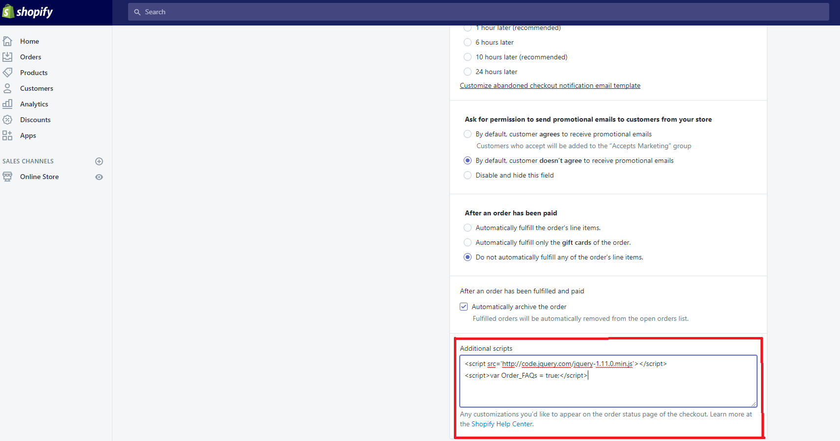 Shopify Order Status FAQs - Etoile Web Design - Premium WordPress