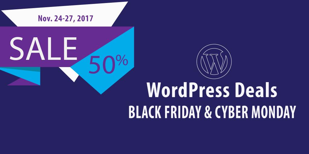 wordpress deals black friday to cyber monday