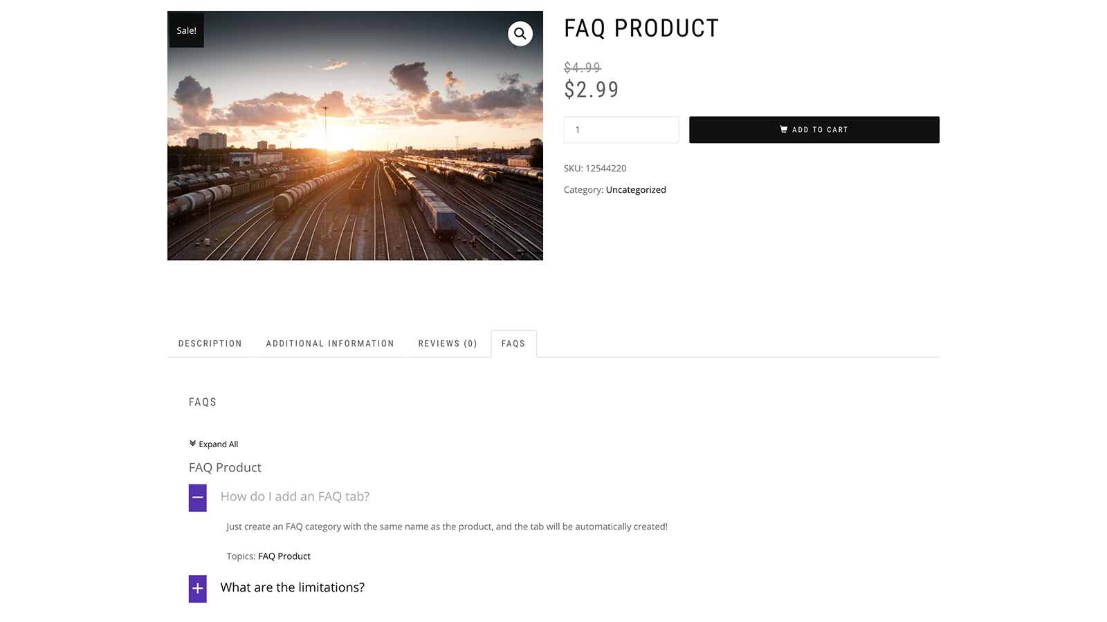 WooCommerce FAQs