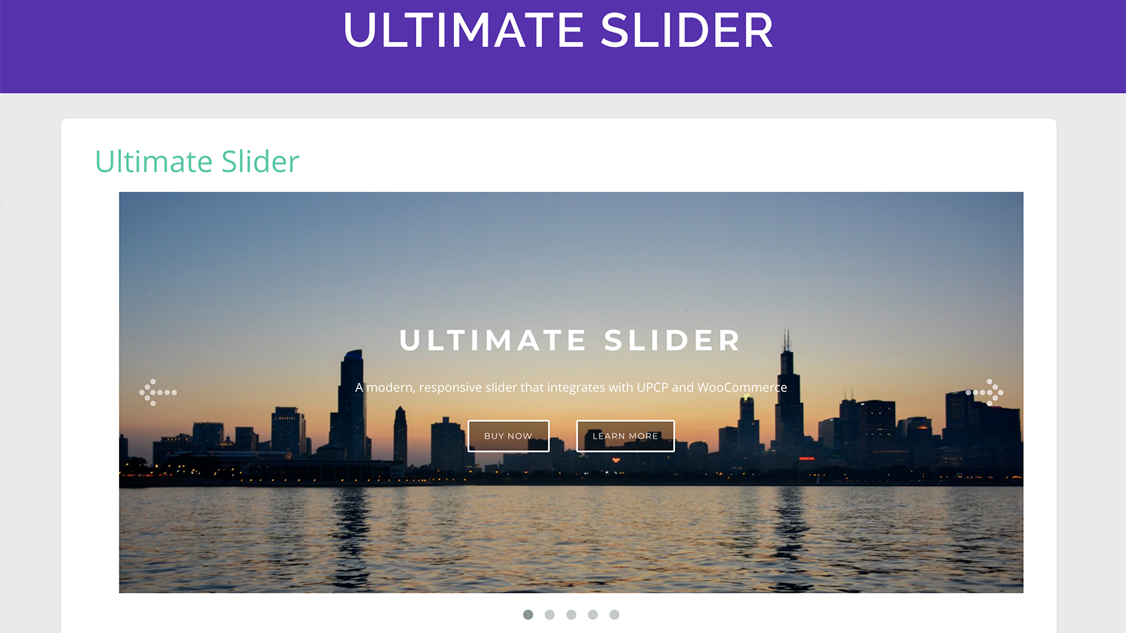 Ultimate Slider