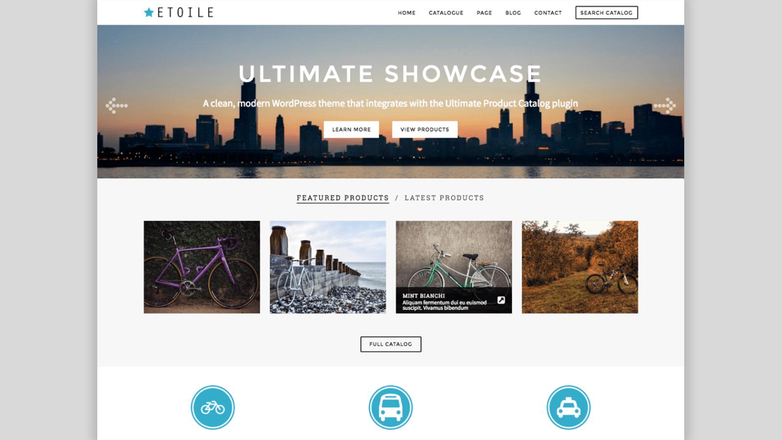 Ultimate Showcase Homepage