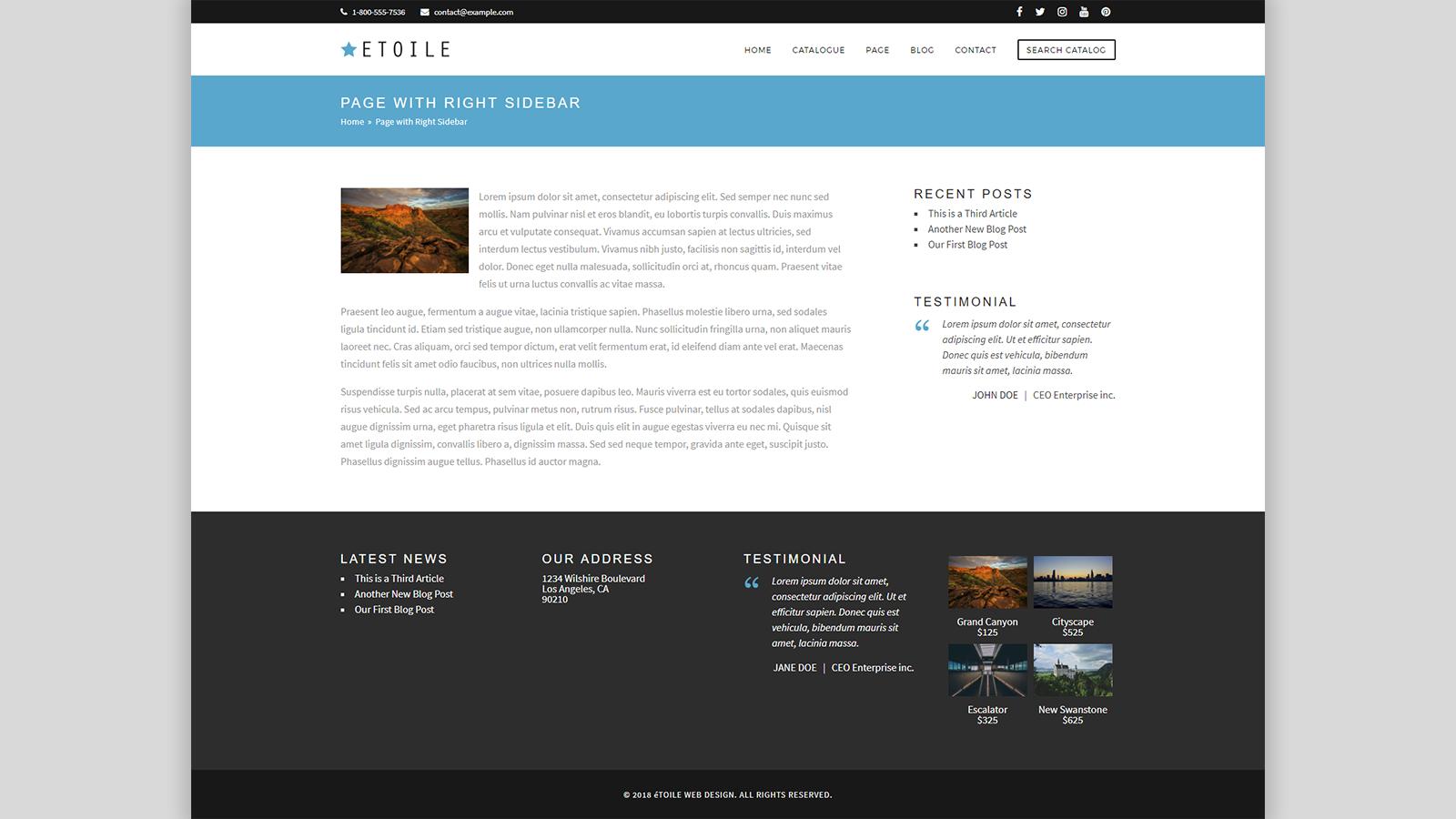 Internal Page