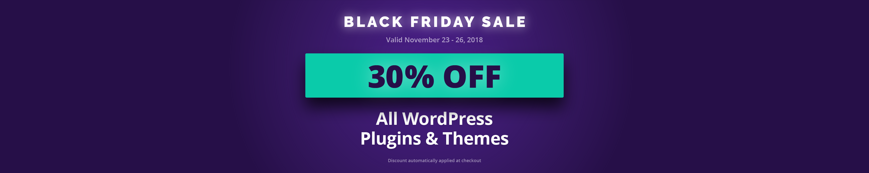 WordPress Plugins Black Friday